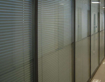 Vertical Blinds Between The Glass , Sound / Heat Insulating Blinds Between Glass
